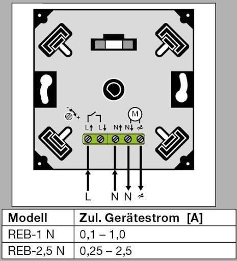 Regulador de Velocidade p/Exaustor TD REB-5N - 220V  S&P  - Nova Exaustores