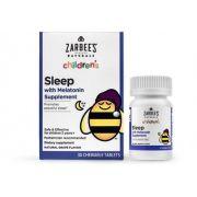 Melatonina Infantil Zarbees Sleep 30 comprimidos mastigáveis