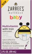 Multivitamínico Infantil com Ferro Zarbees Naturals Baby's 59ml