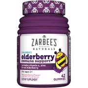 Multivitamínico Infantil Zarbees Children´s de sabugueiro com vitamina C e zinco