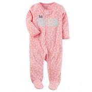 Pijama Carters Little Sister com Pé - Fleece
