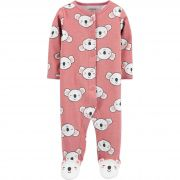 Pijama Infantil Carters em malha com Pé rosa coala