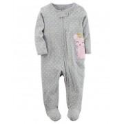 Pijama Infantil Carters Ratinha com Pé - Malha