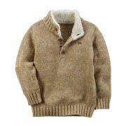 Pullover Sweater Marrom