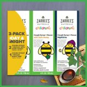 Xarope Infantil Zarbees Naturals Children's Nighttime - 3 Pack