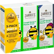 Xarope Infantil Zarbees Naturals Children's Nighttime - 3 Pack