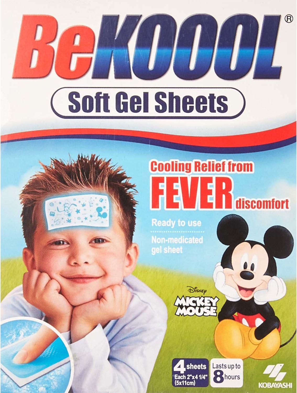 Adesivo Infantil Para Combate À Febre - Be Koool Fever