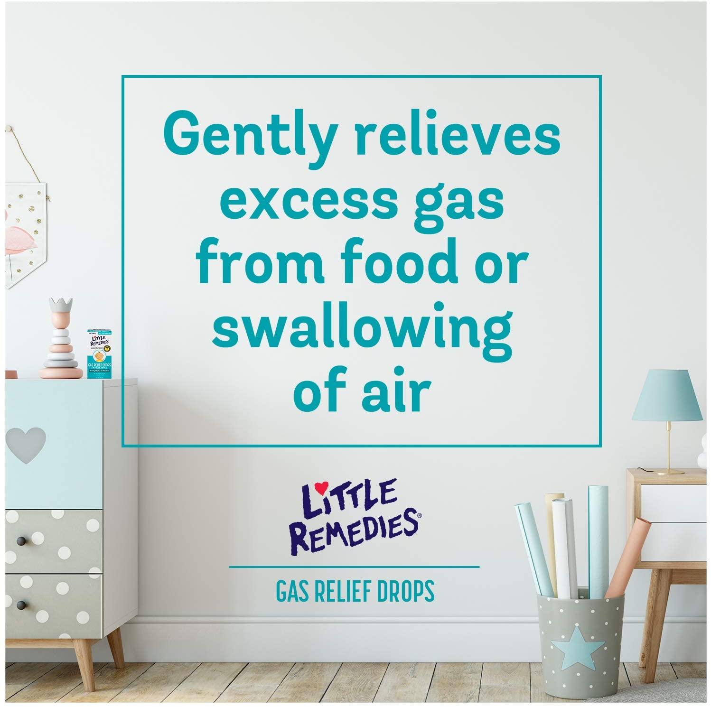 Alívio de gases - Little Remedies for Tummys Infants Gas Drops