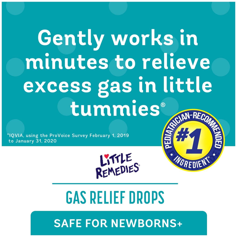 Alívio de gases - Little Remedies for Tummys Infants Gas Drops 30ml