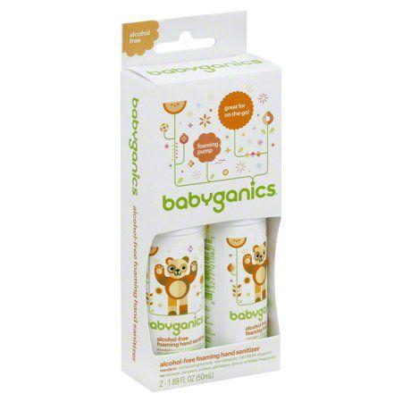 Antibacteriano para as mãos sem álcool - BabyGanics (Antibactericida)