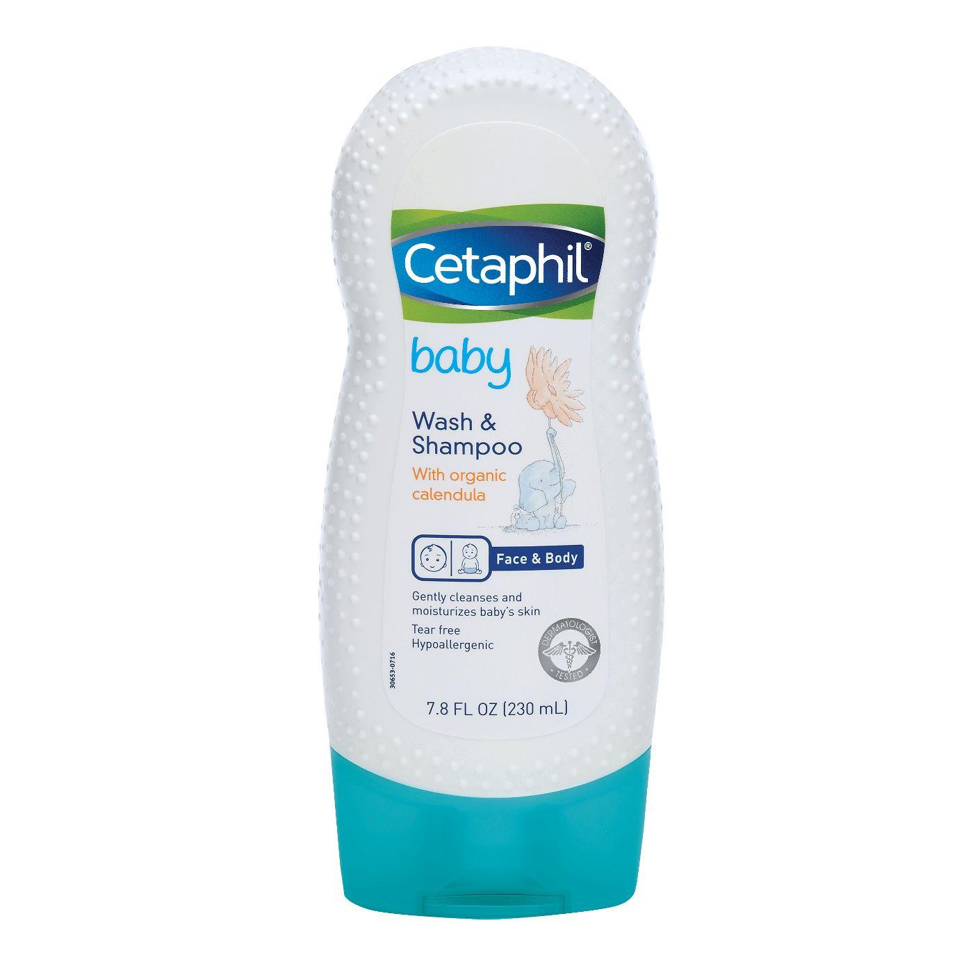 Cetaphil Baby Sabonete e Shampoo Líquido (Wash & Shampoo)