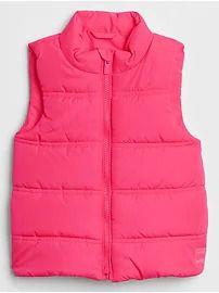 Colete em Nylon GAP Pink
