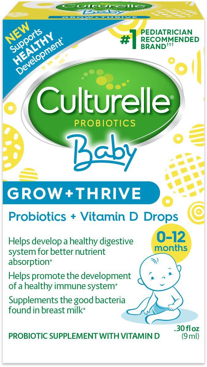 Culturelle Probiótico Baby Grow + Thrive