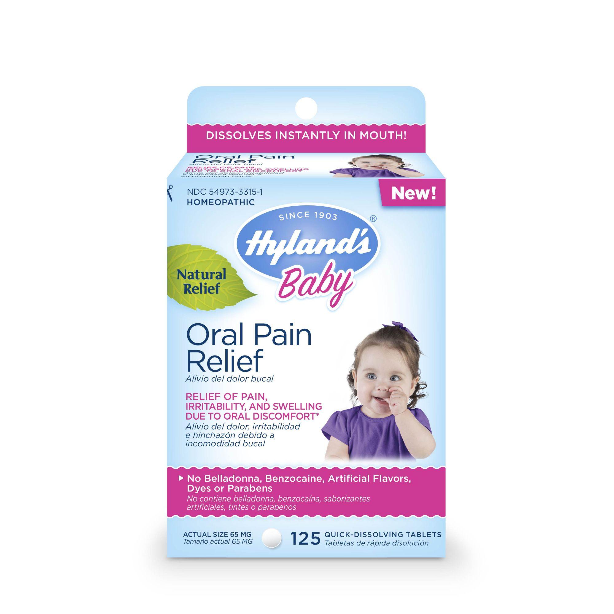 Hyland's Baby Oral Pain Relief - Dor de Dentes