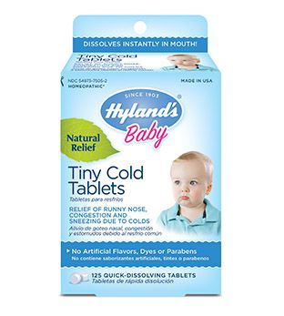 Hyland's Baby Tiny Cold - Alívio dos sintomas de resfriados