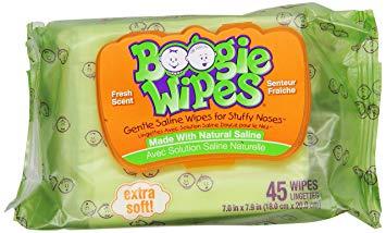 Lenços Para Limpeza Do Nariz Boogie Wipes - Aroma Fresco