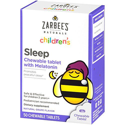 Melatonina Infantil Zarbees Sleep