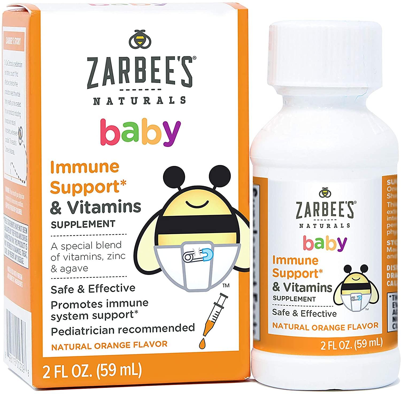 Multivitaminico e Suporte Imunológico Zarbees Naturals Baby