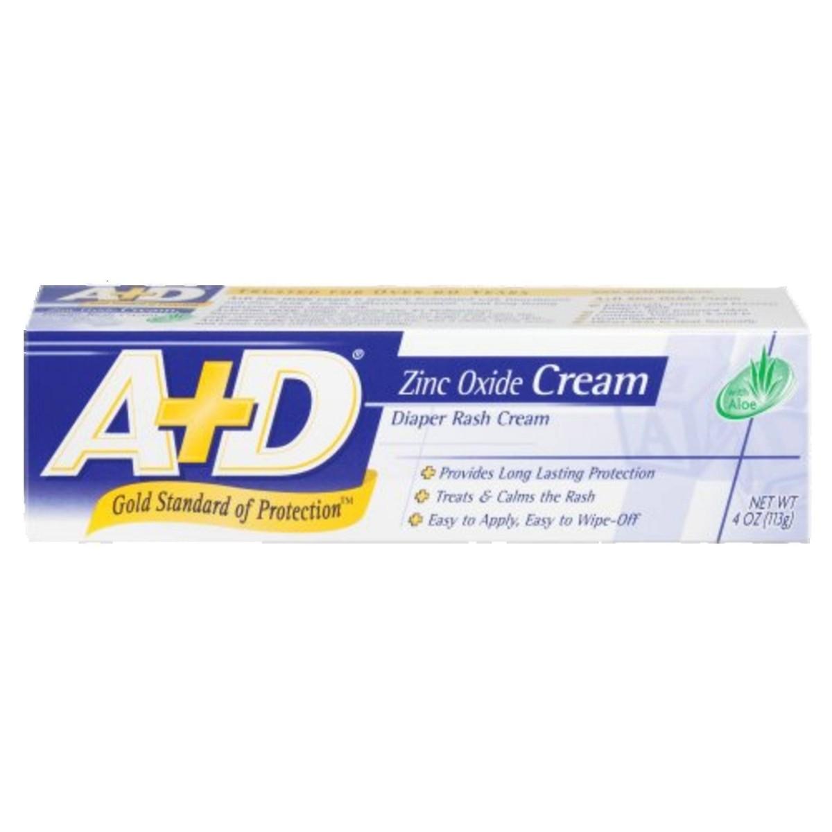 Pomada para Assadura A+D Zinc Oxide Cream