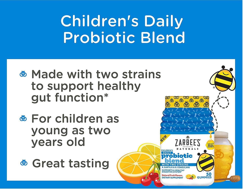 Probiótico Zarbees Children´s com 2 sepas