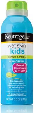 Protetor Solar Neutrogena Wet Skin Kids FPS70 - Spray