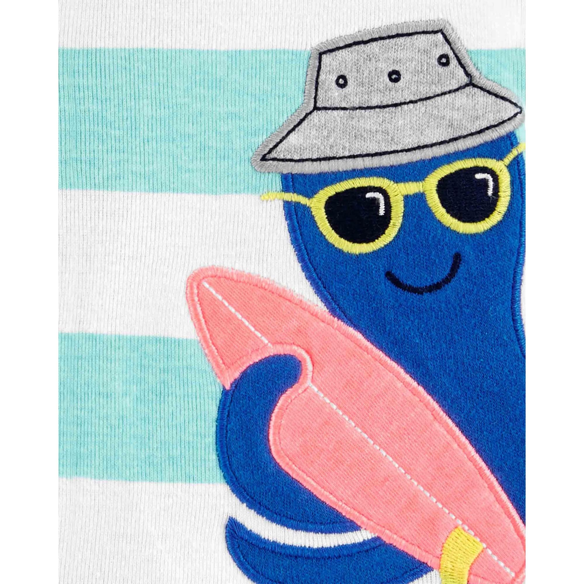 Romper Carters Azul Regata Polvo