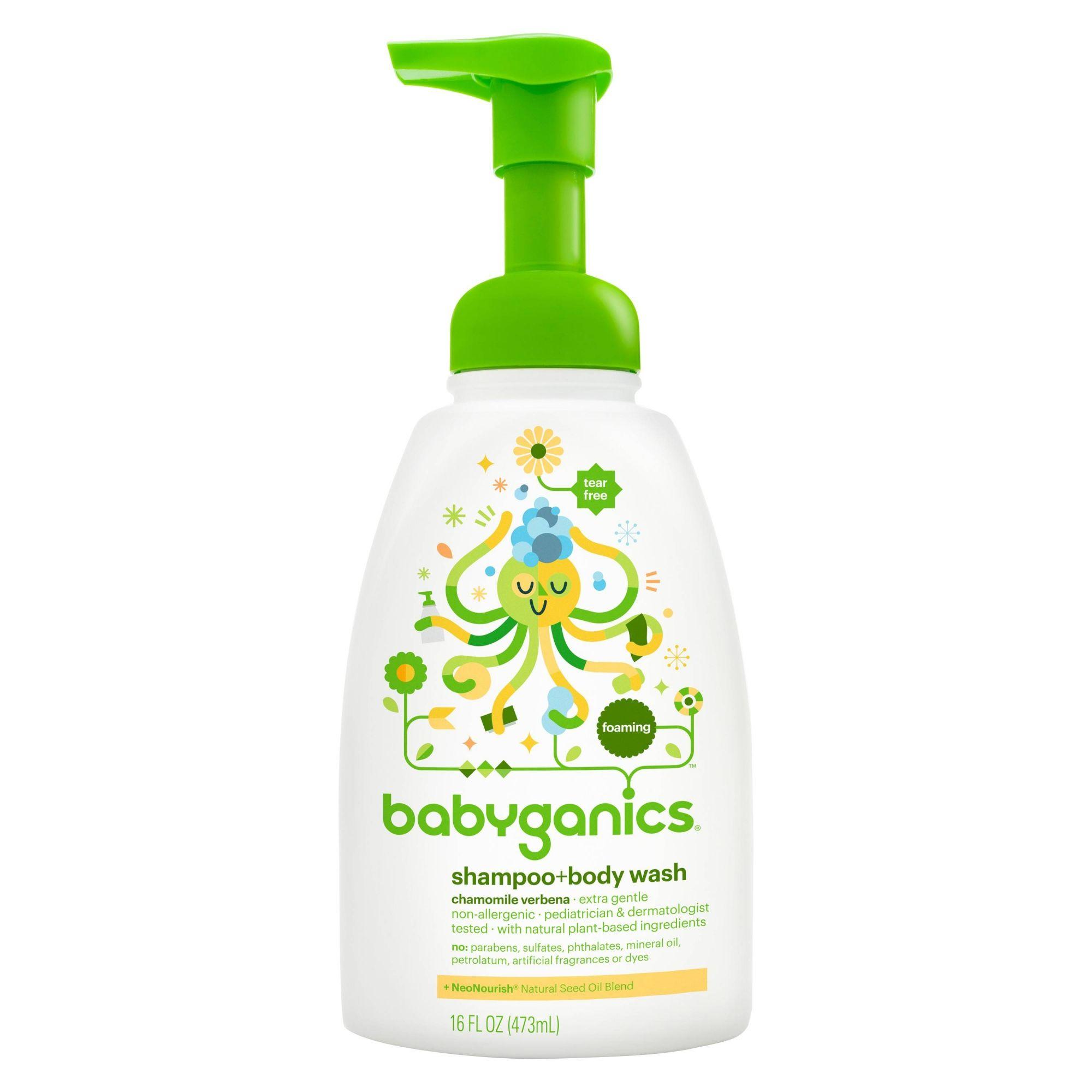 Sabonete e Shampoo Fragrância Camomila - BabyGanics