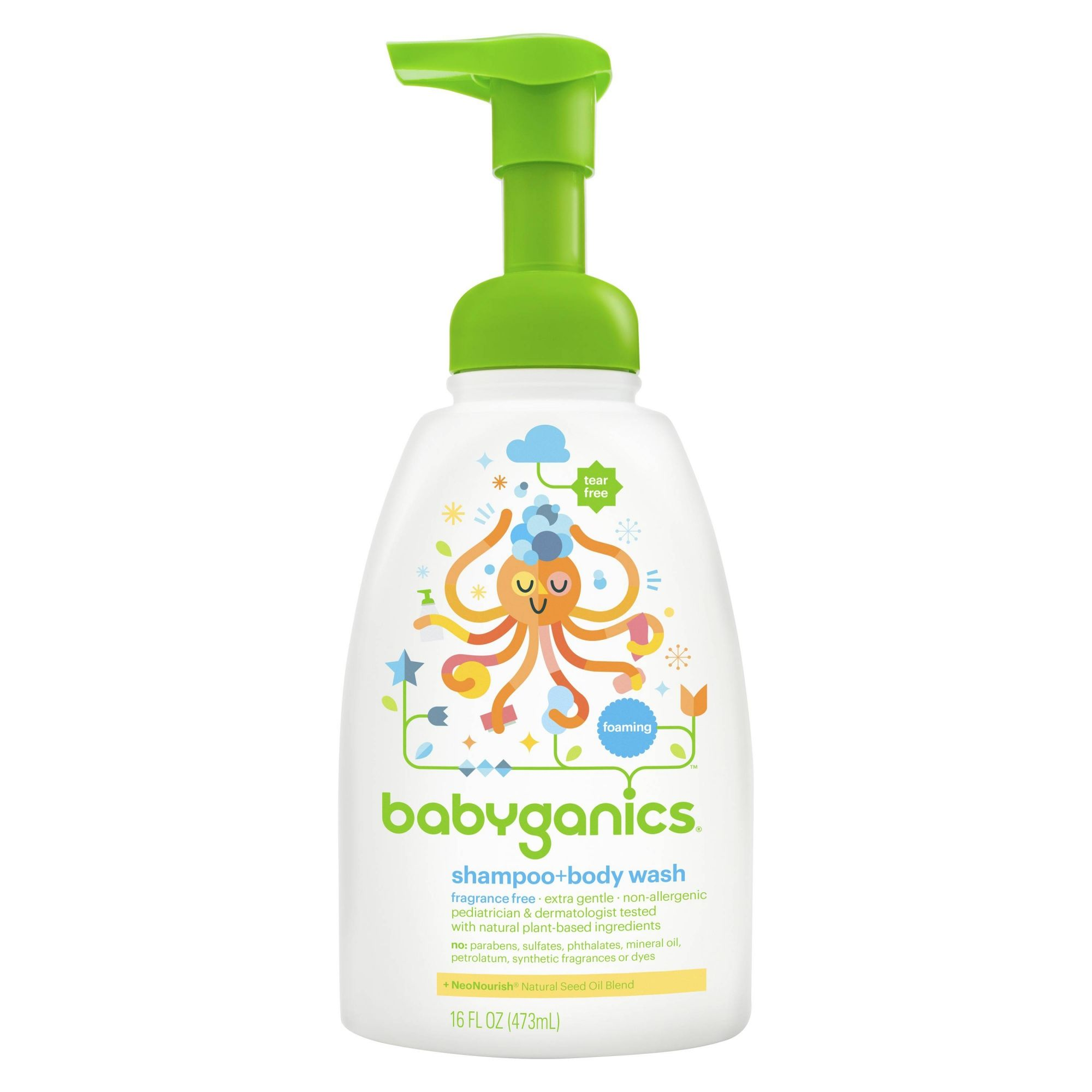 Sabonete e Shampoo sem fragrância - BabyGanics