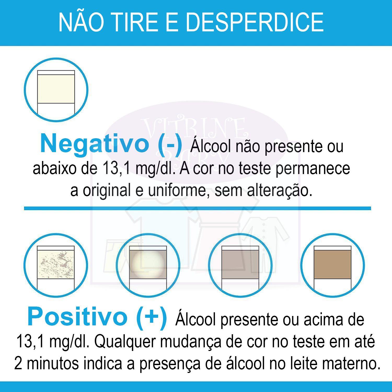 Teste De Álcool No Leite Materno C/ 20 Tiras
