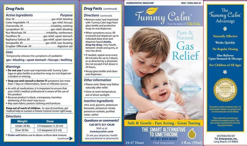 Tummy Calm - Alívio Gases