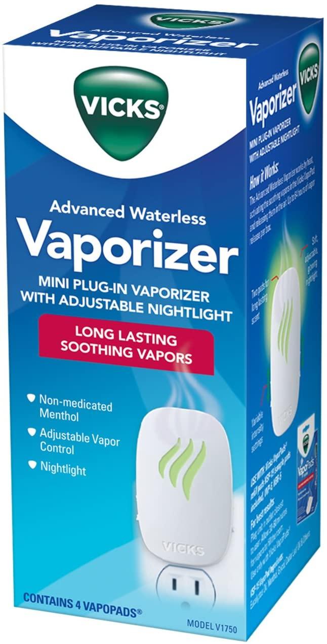 Vaporizador Infantil Vicks Soothing Vapors s/ Água