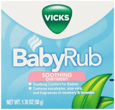 Vicks Babyrub Soothing Ointment 50g