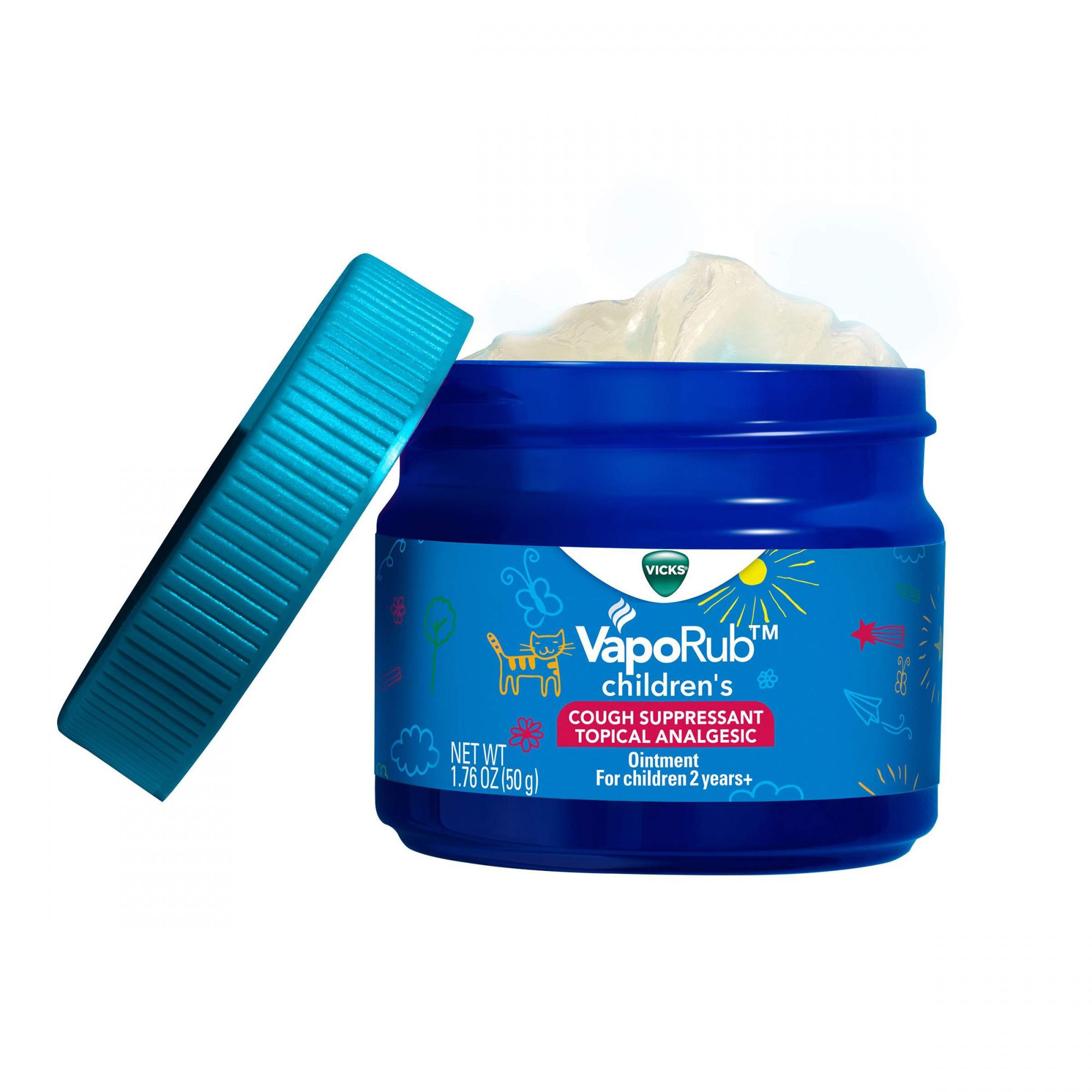 Vicks VapoRub Children´s Soothing Ointment 50g
