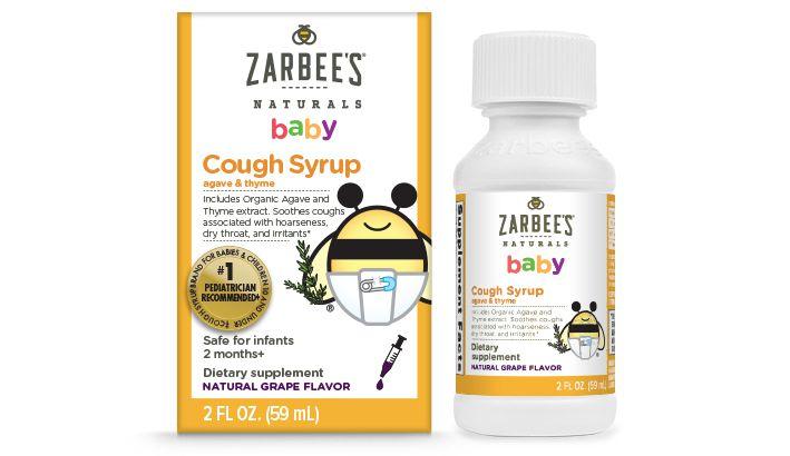 Xarope Infantil Zarbee S Naturals Baby S 59ml