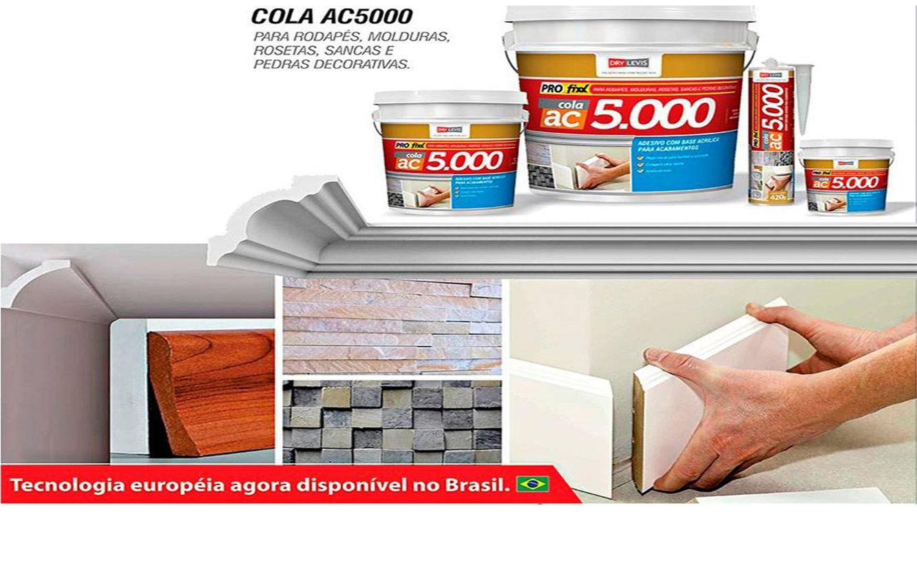 Cola Rodapé - Profixx AC5000 - Bisnaga 420g