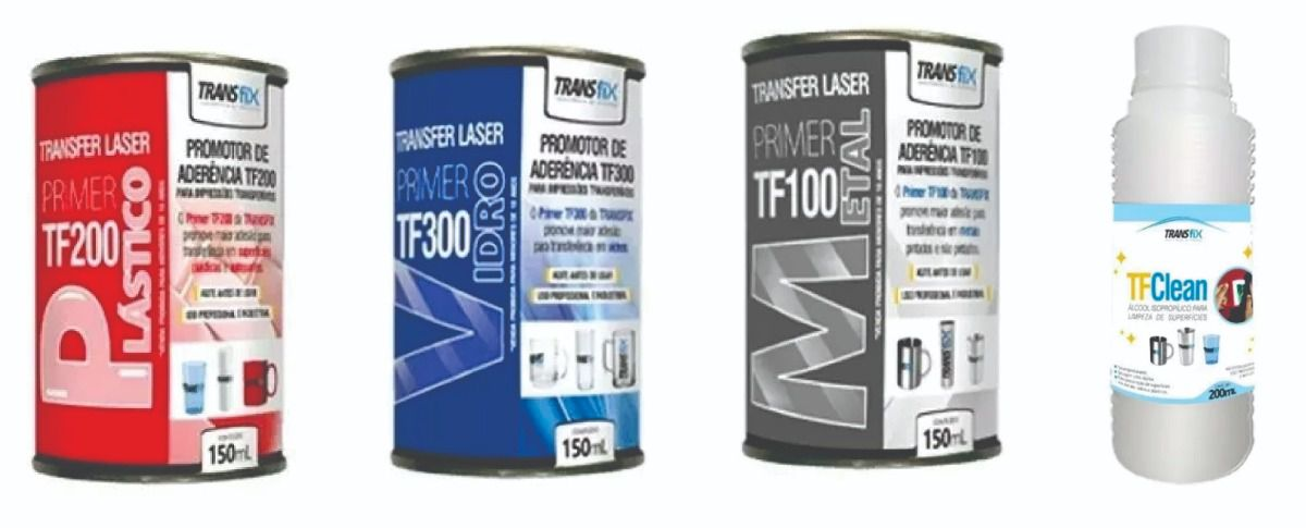 Kit Primer Transfer Laser e Limpador