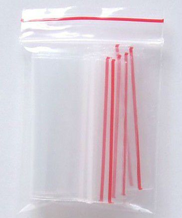 Kit com 1000 Saquinhos Zip Lock: 6x10 cm e 12x19 cm