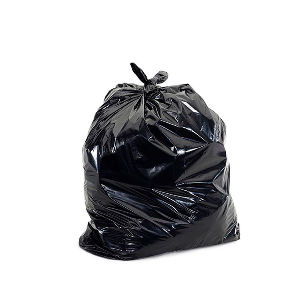 Sacos de lixo preto com capacidade de 100 litros