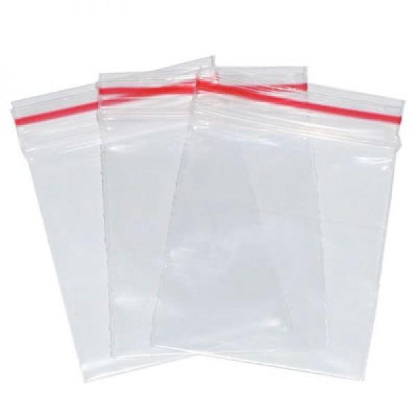 Kit com 1.000 Saquinhos Plástico Zip Lock 12 X 19 Cm