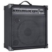 Caixa Amplificada Multiuso Ll Audio LX100Entrada Para Violão Guitarra Microfone 25W Rms