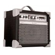 Caixa de Som Multiuso Amplificada LL Audio UP! 5 Bluetooth USB FM Preta