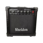 Cubo Amplificador Sheldon GT1200 Guitarra Com Efeito Overdrive 15W Preto