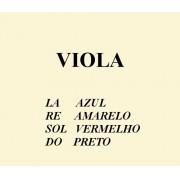 Encordoamento Mauro Calixto para Viola de Arco Série Tradicional