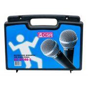 Kit de Microfones de Mão CSR HT58A-5 Dinâmico - Com 5 Microfones