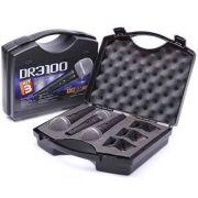 Kit de Microfones Donner DR 3100 c/ 3 Microfones