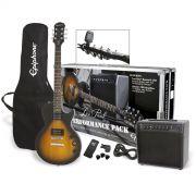 Kit Guitarra Epiphone Les Paul Special Player Pack - Vintage Sunburst