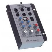 Mesa De Som Mixer Nanomix De 2 Canais Na202r Ll Áudio