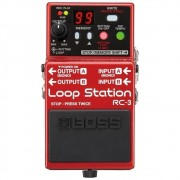 Pedal Boss RC-3 Loop Station - Compacto e com Porta USB (Semi-Novo Impecável)