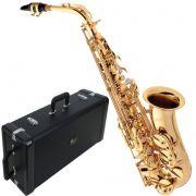 Saxofone Alto Eagle SA-501 Laqueado em Mib (Com Case)