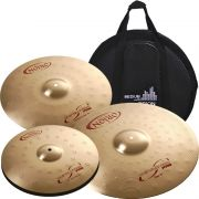Set de Pratos Orion Revolution PRO RP70 Set 14/16/20 + Bag